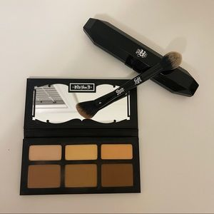 Kat Von D KVD Shade & Light Contour Palette +Brush